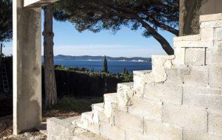 rénovation le Lavandou villa de prestige